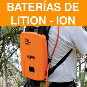 Baterías de litio-ion