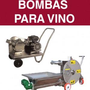 Bombas para vino