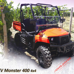Quad UVL Monster 400