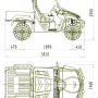 Quad UVL Monster 500 4x4 para campo