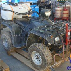 quad conqueror 200 ATV alzado